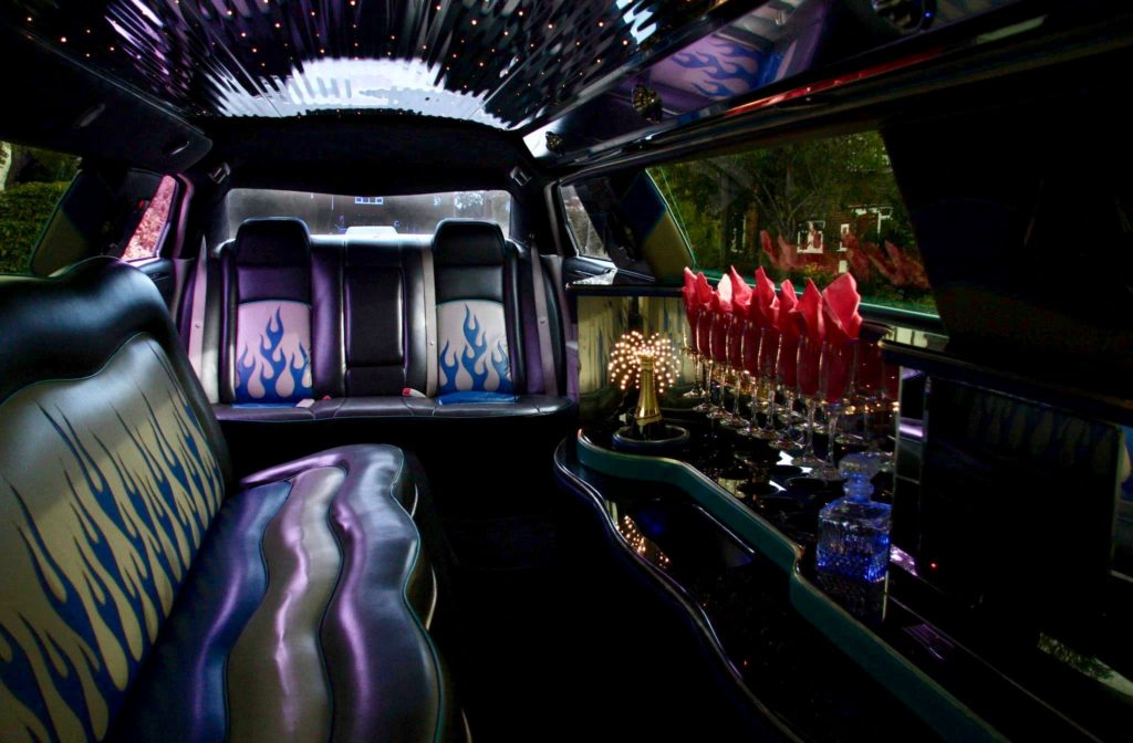 Simply limousines Chrysler 300c interior